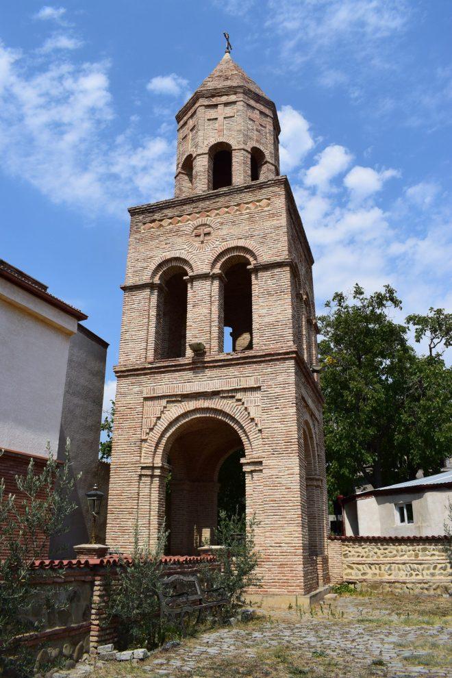 Georgia Sighnaghi torre igreja