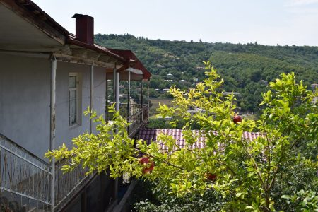 Georgia Sighnaghi varandas romã