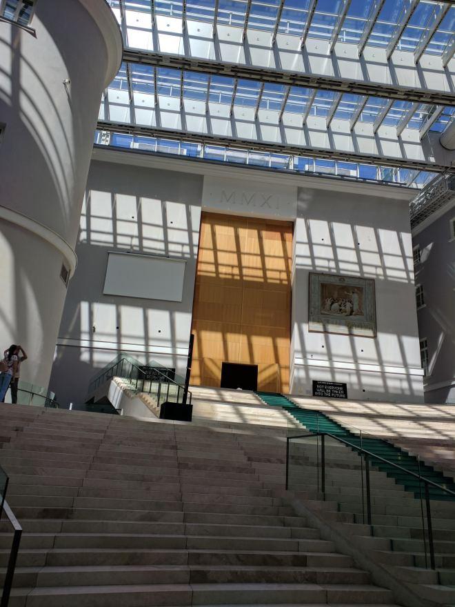 Hermitage estados gerais predio dos impressionistas interior moderno