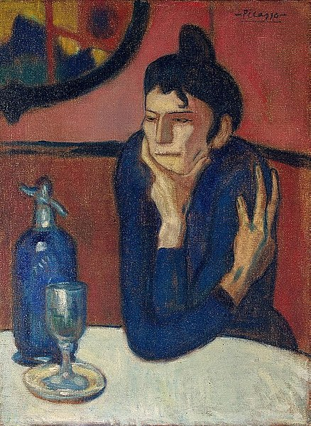 Hermitage estados gerais predio dos impressionistas picasso mulher em um café