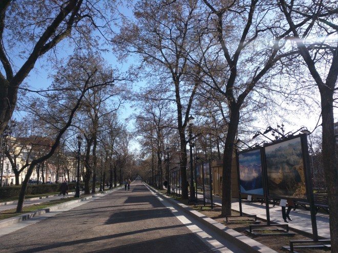 Moscou Boulevard Tverskoi