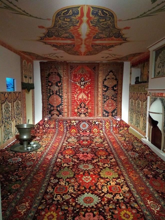 Baku moderna museu tapete 2