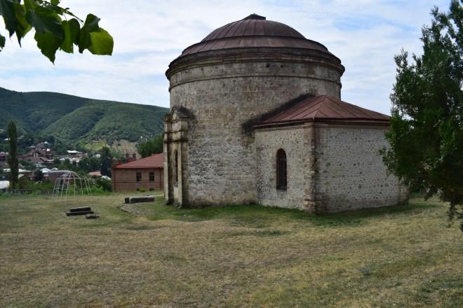 Sheki rota seda igreja circular