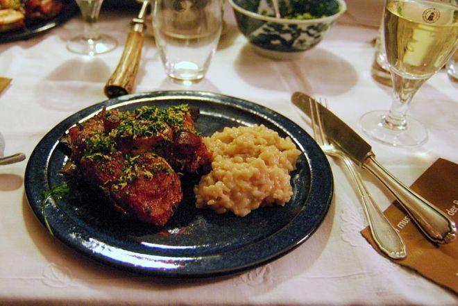 pratos típicos provar lombardia milão ossobuco risotto milanese