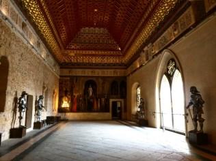 Alcazar de Segóvia Castelo Bela Adormecida 12