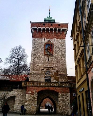 Florian Gate Cracóvia