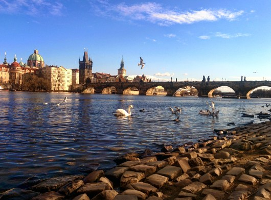 Praia do Vltava Praga 1