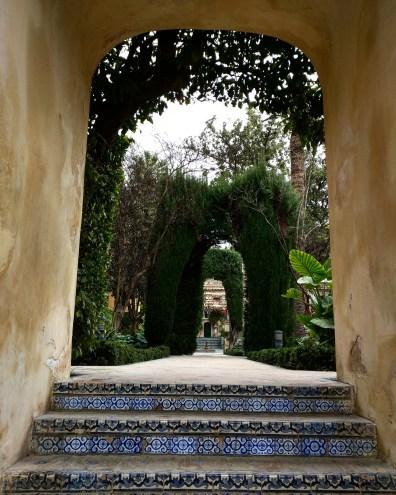 Alcazar Sevilha jardim 4