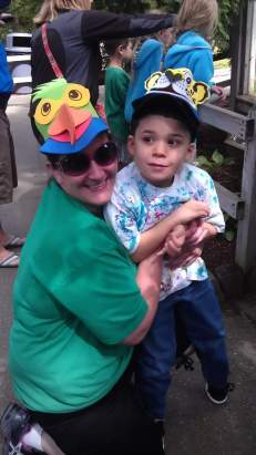 Fun at the zoo with Miss Aimee