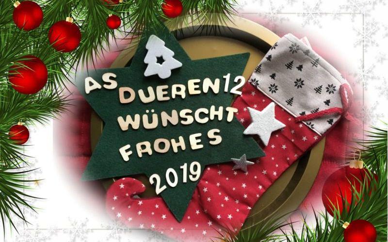 Frohe Weihnachten An Alle.Frohe Weihnachten Und Alles Gute Fur 2019 As Duren 12 E V