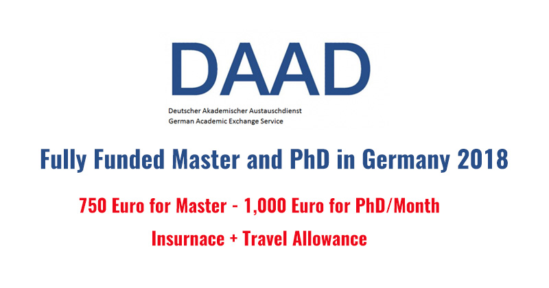Daad Master And Doctoral Programs In Germany 2018 Fully