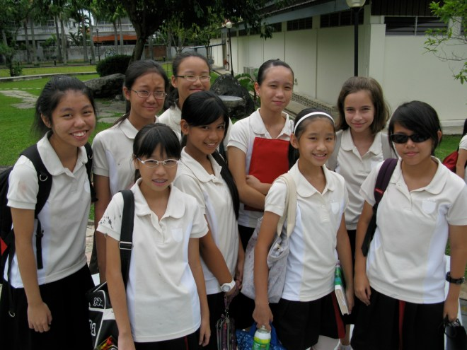Singapore students (Steel Wool)