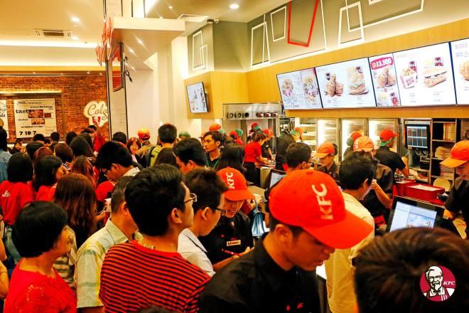 KFC Myanmar 2