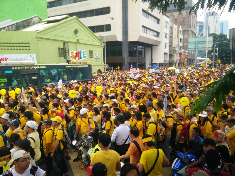 Bersih_4.0_rally_at_Pasar_Seni_Day_1.jpg
