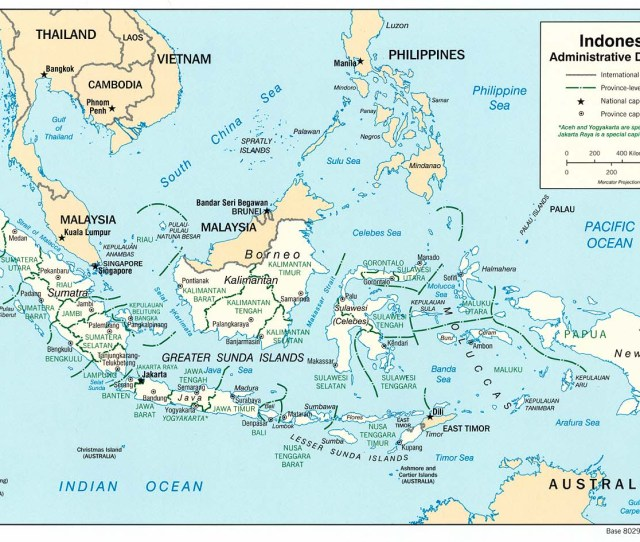 Free Maps Of Indonesia Asean Up