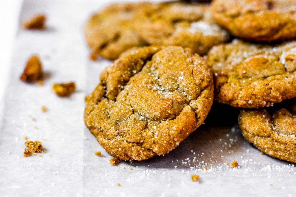 one molasses cookie