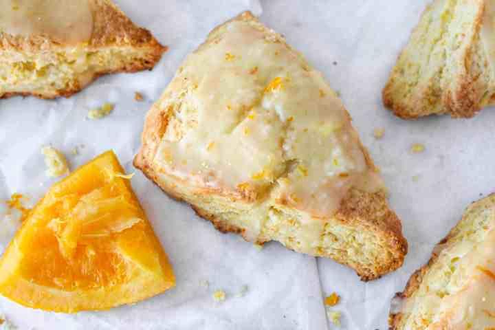 copycat Panera orange scones