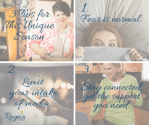 3 Tips for this Unique Season