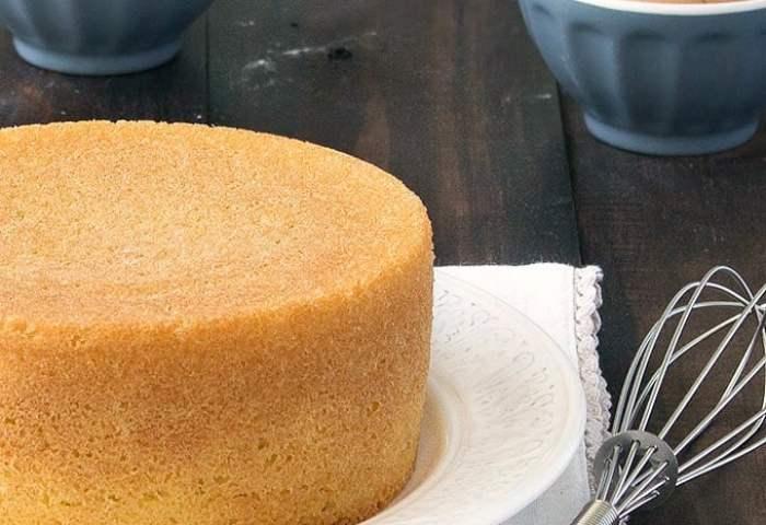 Italian Sponge Cake Pan Di Spagna As Easy As Apple Pie