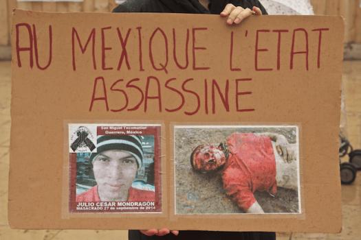 Julio Cesar Mondragón (masacrado)