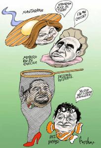 mantarraya de Rocha en La Jornada