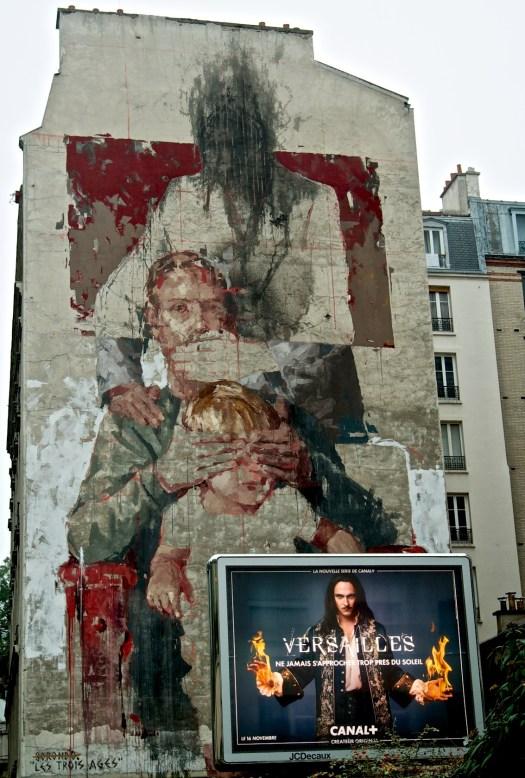 Rue de Chevaleret, altura con la estación Bibliothèque F. Mitterand. Foto capturada por armando segovia / segoviaspixes 2015 (CreativeCommons Intl. Lic. 4.0 /By/NC/SA).
