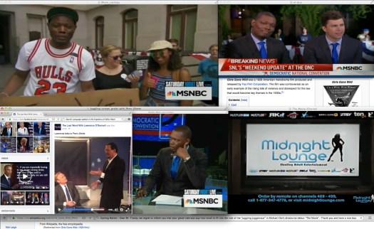 Uso justo de un archivo por  el Internet, y de un show de noticias por una red de noticias por cable.