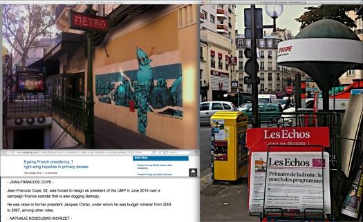 The street is my gallery. | Uso justo de todos los medios, y de todas las expresiones. [Context follows].