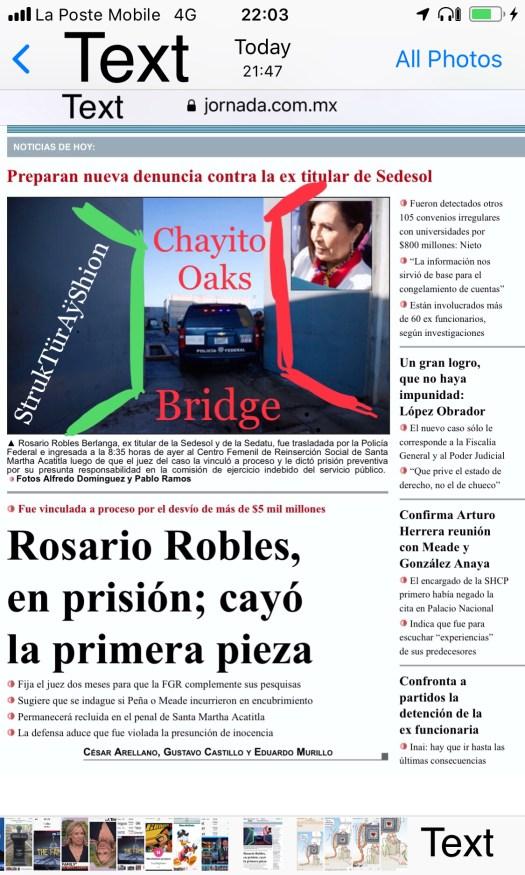 p is for bridge