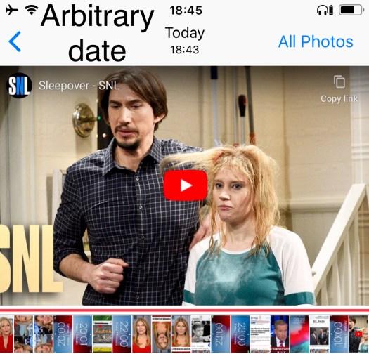 Arbitrary Date