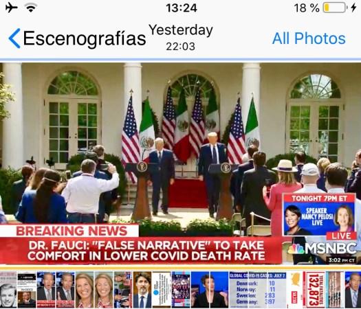 TeleAzteca con visa presenta
