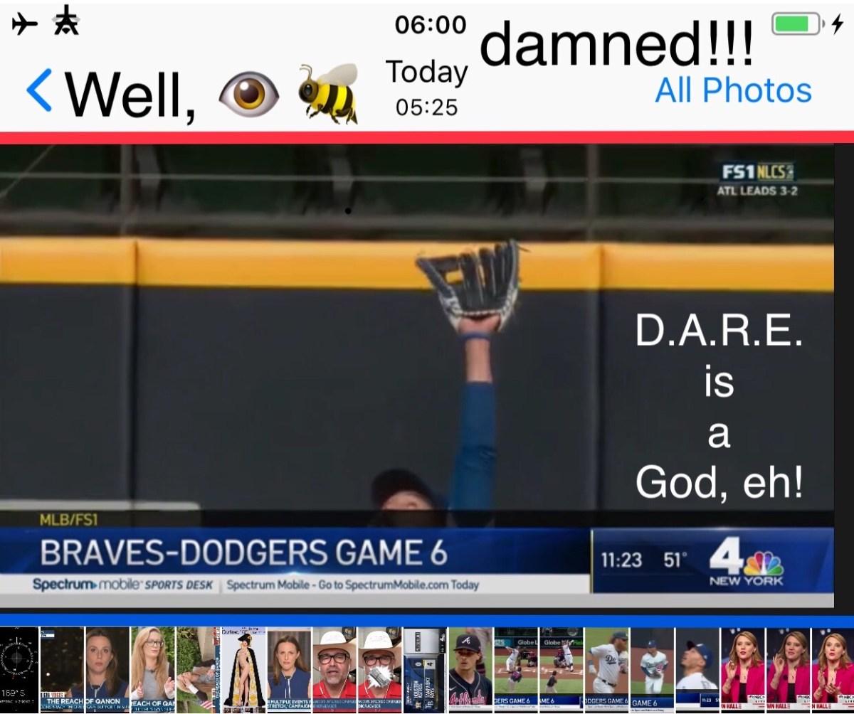 Gooooooo, Dodgers.