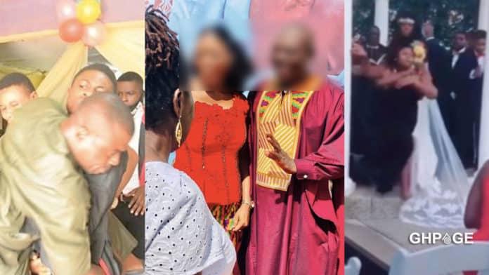 6 ladies storm and destroy boyfriend's secret marriage