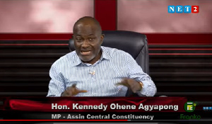I enrolled in university hoping for a job in Adu Boahen's govt – Kennedy Agyapong
