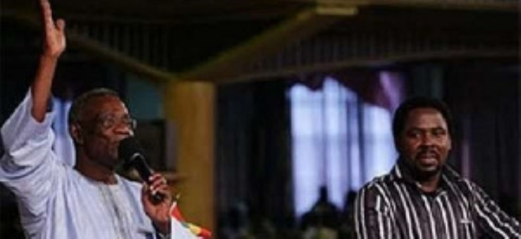 TB Joshua's encounter with his political sons and daughters