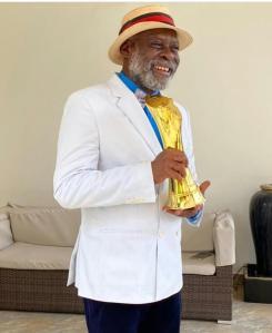 Sir Kofi Adjorlolo Honored TAFF 2021 African Film Legend
