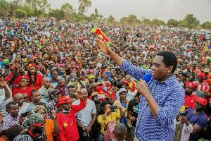 Zambia swears in new president Hakainde Hichelima today