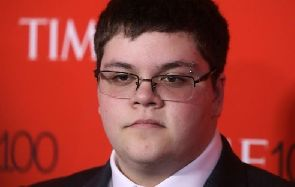 Activist Gavin Grimm arrives for the Time 100 Gala in the Manhattan borough of New York