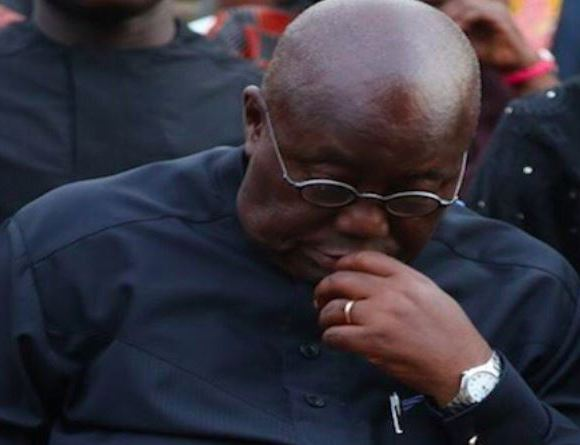 Akufo-Addo wears black