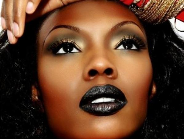 Black woman lipstick