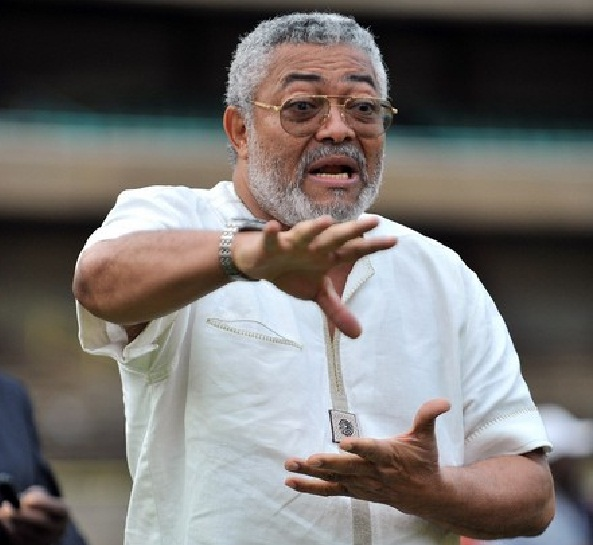 Ghana's former President Jerry Rawlings,, Ghana Political News Report Articles