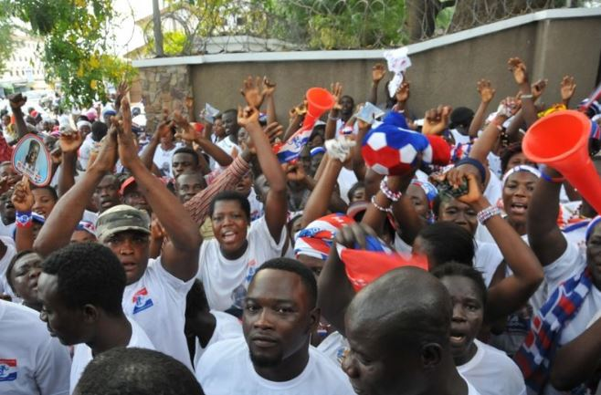 NPP supporters File Photo, Ghana Political News Report Articles