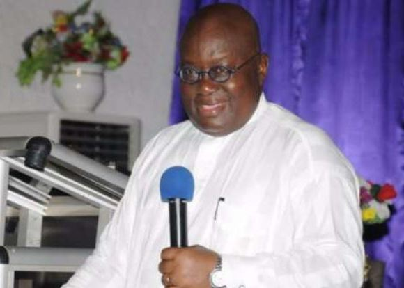 Nana Addo in white