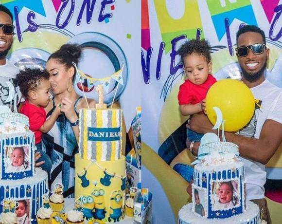 D-banj and wife