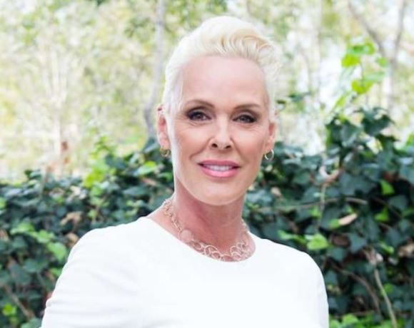 Danish actress Brigitte Nielsen