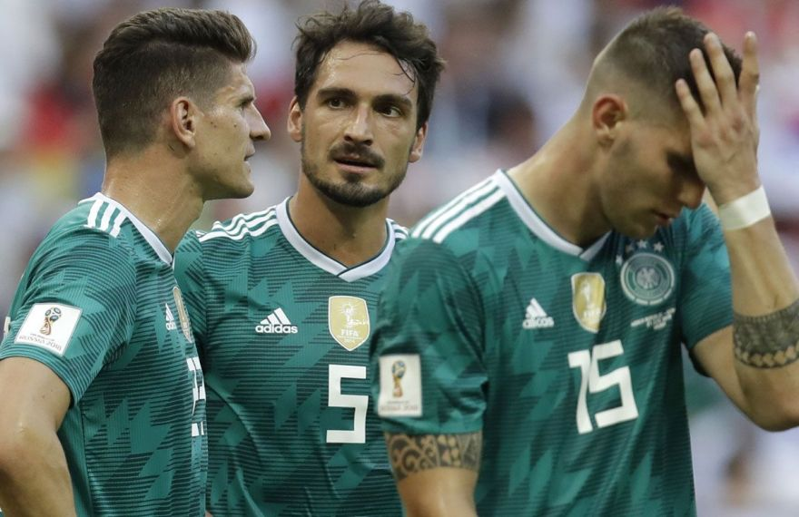 Germany World Cup shock