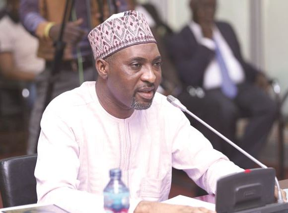 Muntaka Mubarak Minority chief whip