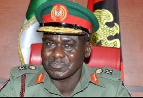 Nigeria's army chief urged residents in the north-east to return to their homes