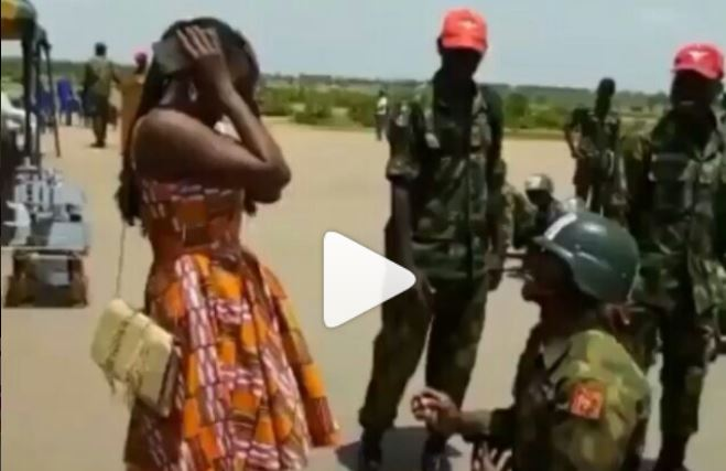 Soldier proposes, Ghana Music News Articles
