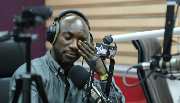 Kwabena Kwabena was on Starr Chat with Bola Ray